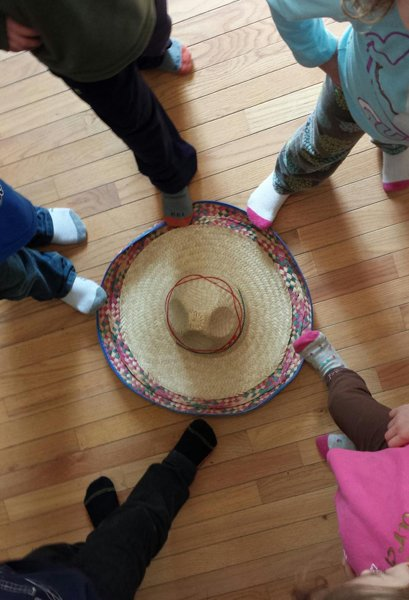 Children take a walk through a different culture each day