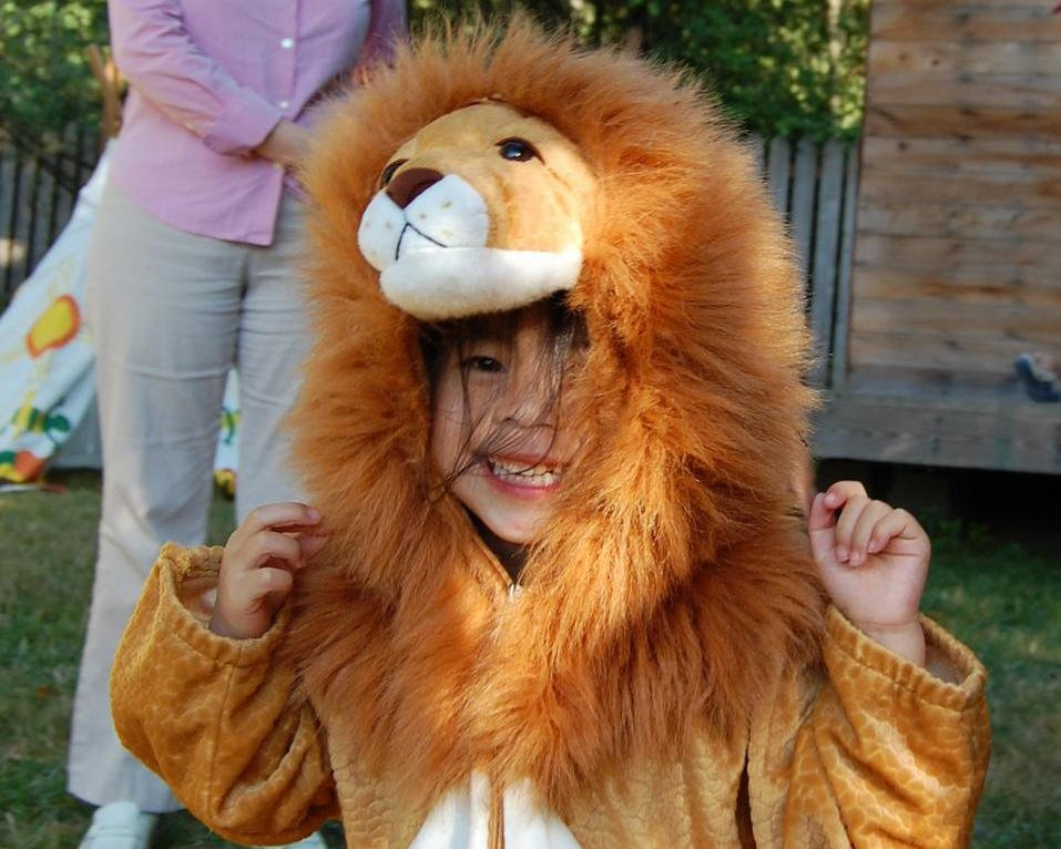 Little lion roars mightly